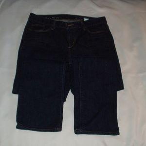 Eddie Bauer Women's Jeans - 12S- Dark Wash